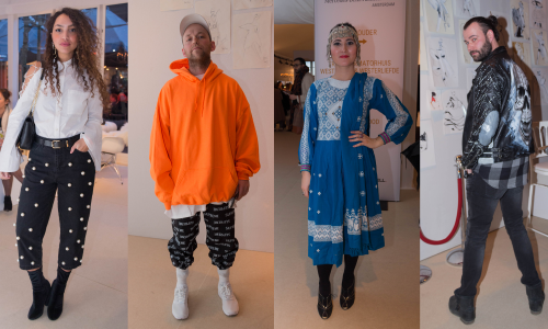 Zien: De outfits van de Amsterdam Fashion Week-bezoekers