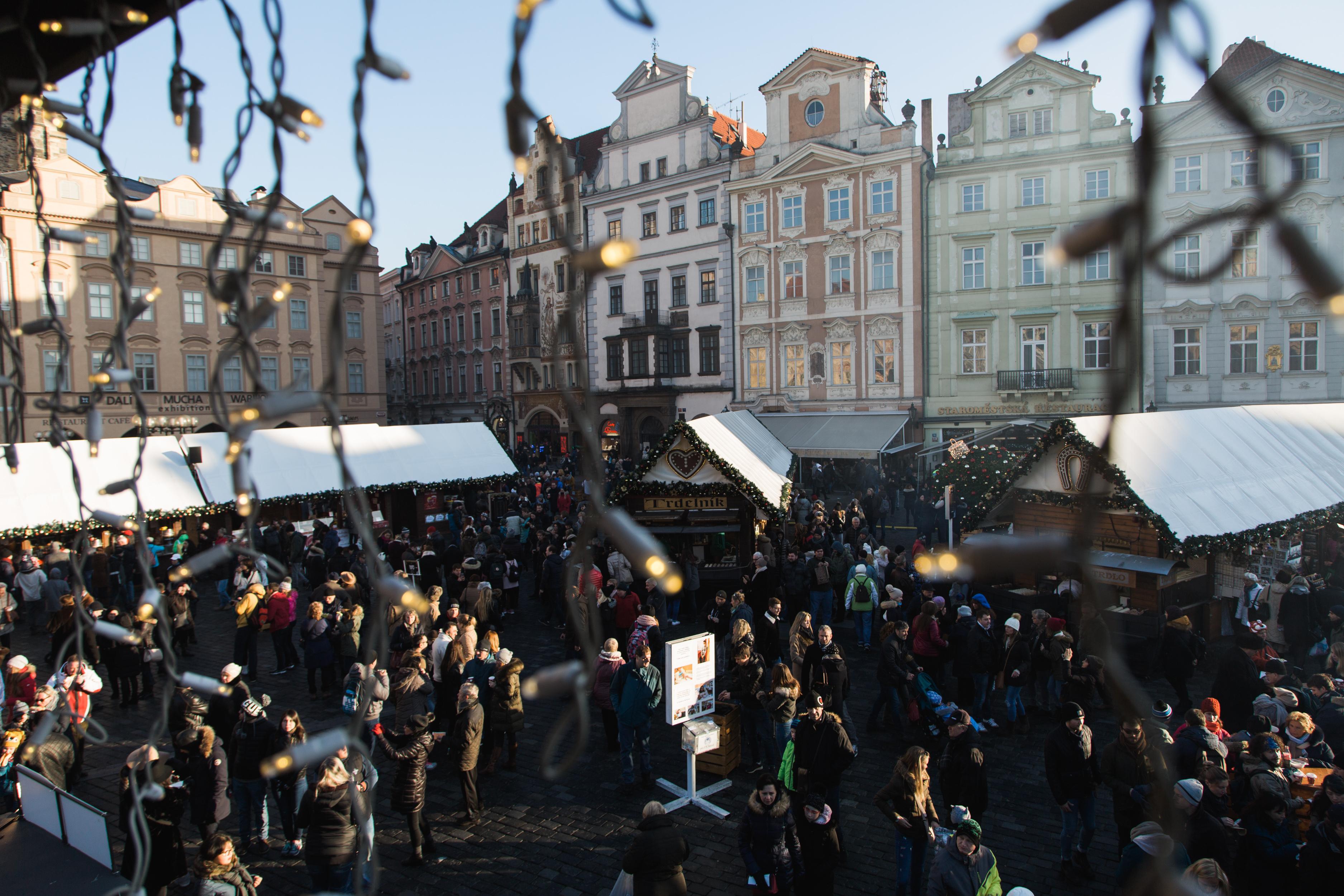 Praagse kerstmarkt