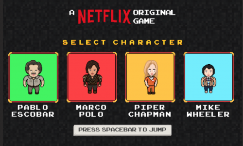 In deze online Netflix game ben je Pablo Escobar of Piper Chapman
