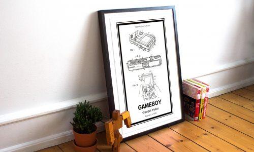 Hang patenten aan je muur met deze prachtige posters van Retro Patents