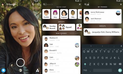 Snapchat maakt het eindelijk mogelijk iets of iemand te vinden