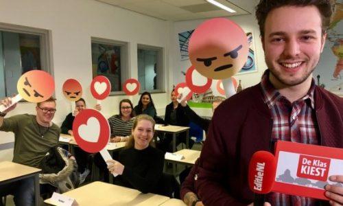 ROC scholieren hebben vertrouwen in Buma (CDA), maar Asscher (PvdA) is 'fake'