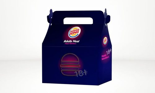 Burger King verkocht op Valenstijdag Happy Meal voor volwassenen met seksspeeltje