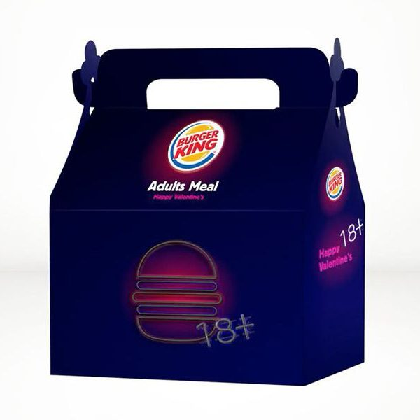 Burger King the adult meal
