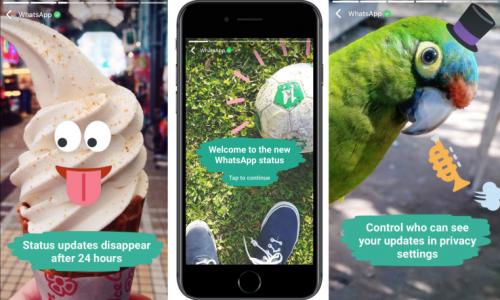Ook WhatsApp komt met kopie van Snapchat Stories: WhatsApp Status