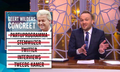 Zondag met Lubach ging op zoek naar wat Geert Wilders nu concreet wil
