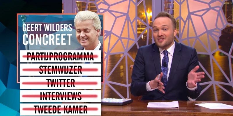 Zondag met Lubach Geert Wilders concreet