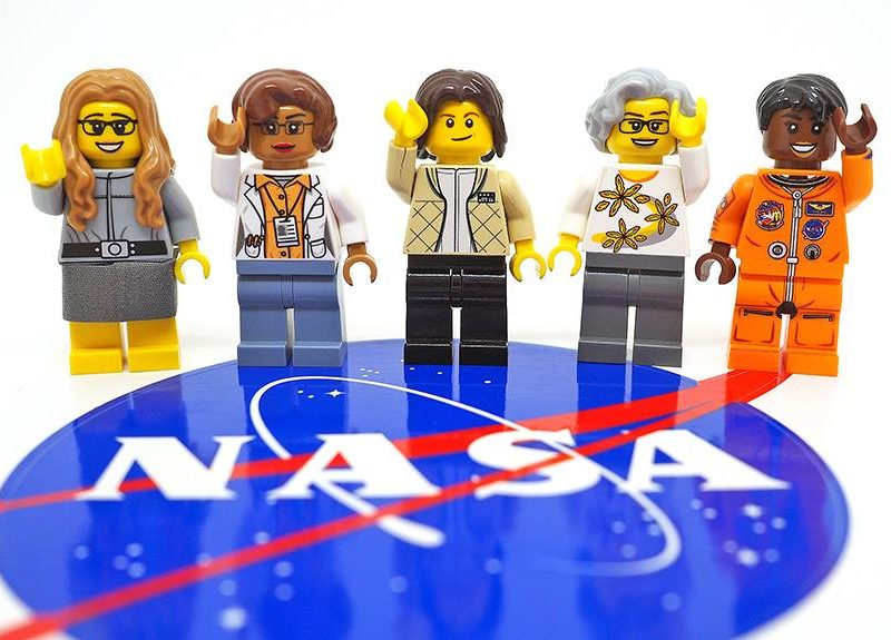 NASA-vrouwen van Lego