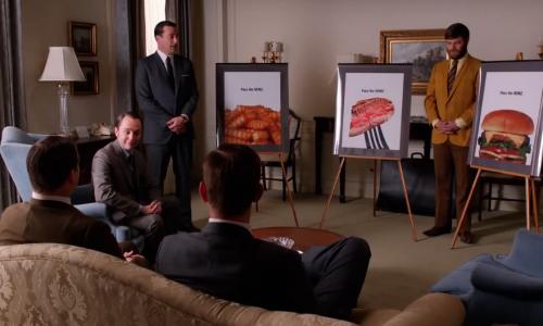 Heinz lanceert campagne 'Pass the Heinz' die bedacht werd in Mad Men