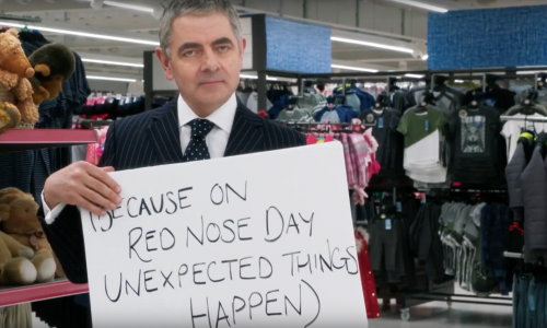 Zien: Love Actually-cast herenigd voor Red Nose Day Actually