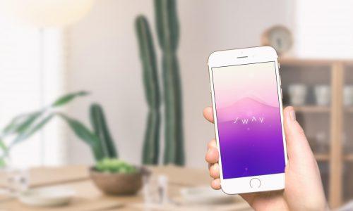 Mediteer waar en wanneer je maar wilt door te bewegen met de app Sway