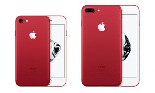 Wil jij opvallen met je iPhone 7? Check dan deze rode versie!