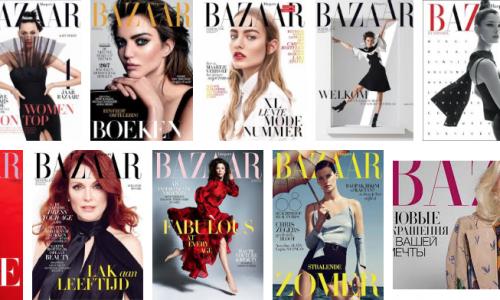 Harper's Bazaar maakt statement met 5 donkere modellen op de cover