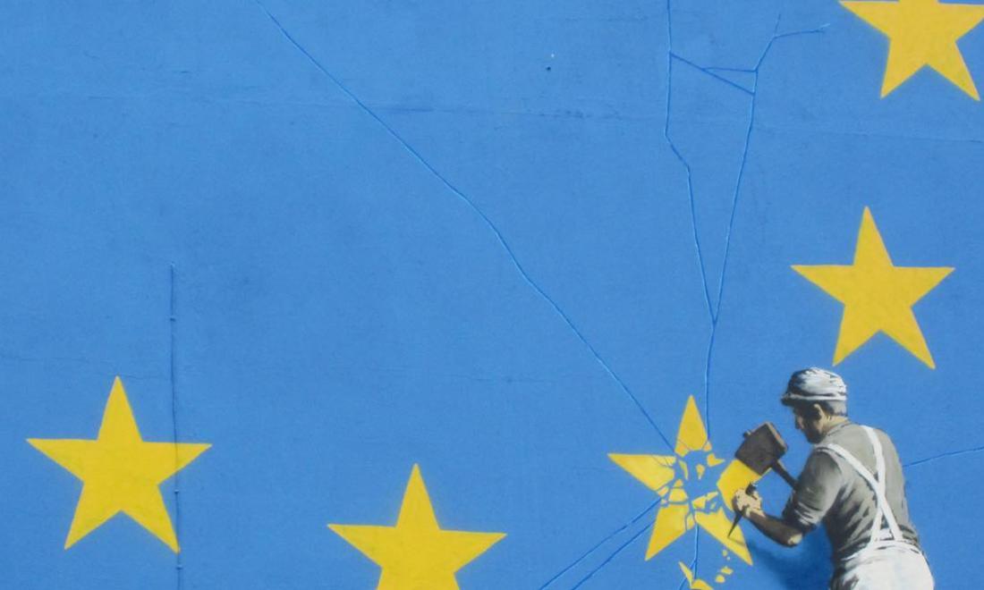 Banksy zorgt voor ophef in engeland met nieuwe muurschildering vance - Nieuw muurschildering ...