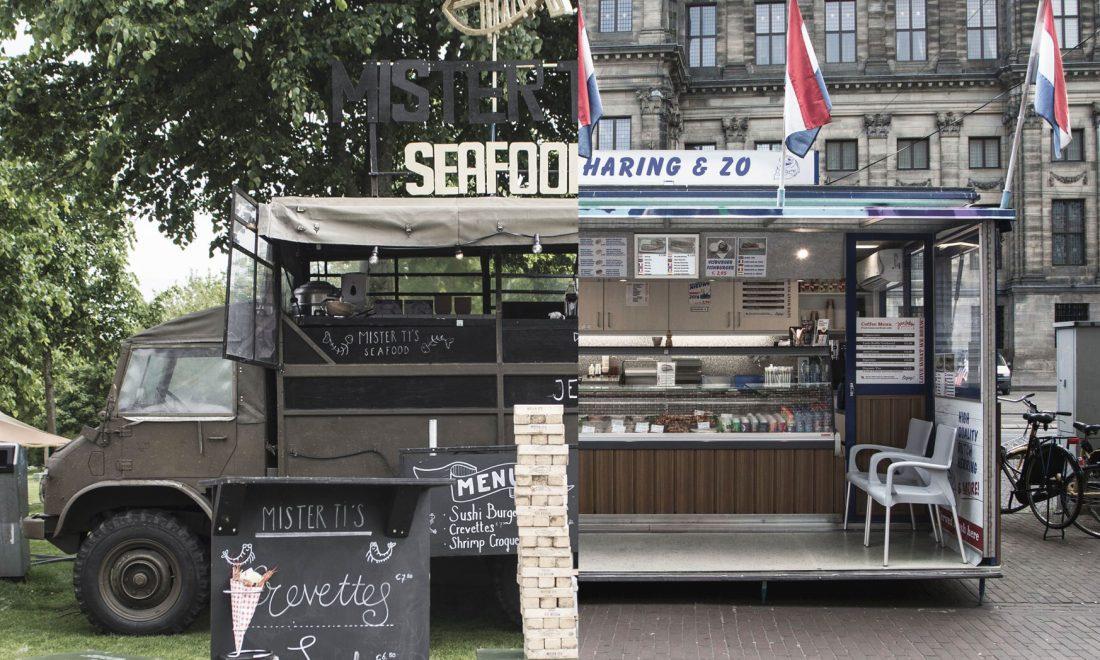 Rollende Keukens Amsterdam : Foodtrucks op rollende keukens: waarom niet altijd in amsterdam?