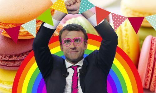 Macron won van Le Pen omdat goed nu eenmaal wint van kwaad