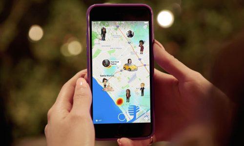 De nieuwste functie van Snapchat zet jou en je vrienden letterlijk op de kaart