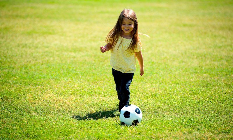 voetbal meisje