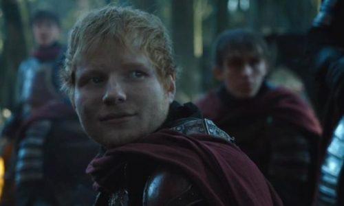 Deze serenade van Ed Sheeran aan Arya Stark in Game of Thrones op repeat alsjeblieft
