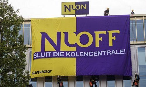 Dit is waarom Greenpeace het hoofdkantoor van Nuon bezet