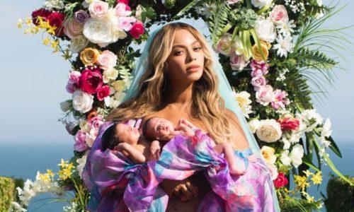 Queen Bey heeft zojuist deze ultieme foto met haar kleintjes vrijgegeven