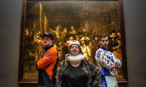 #Rembrandtrocks: dit jaar speelt kunst de hoofdrol op de Zwarte Cross