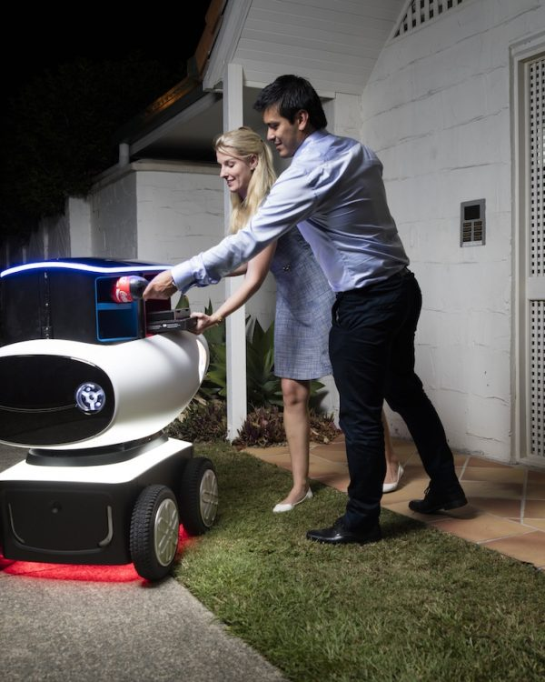 robot bestuurder