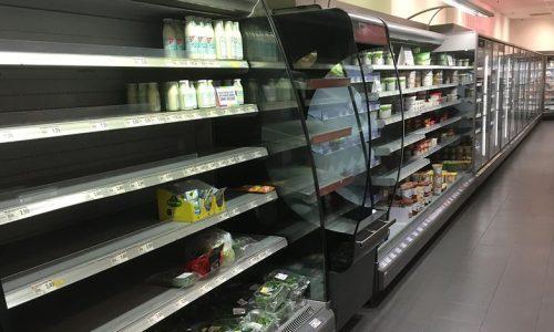 Deze Duitse supermarkt leegt schappen als anti-racisme stunt