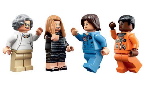 Deze vier vrouwen van NASA krijgen hun eigen Lego poppetjes