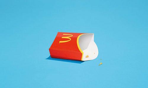 Deze minimalistische reclames van McDonalds spreken boekdelen