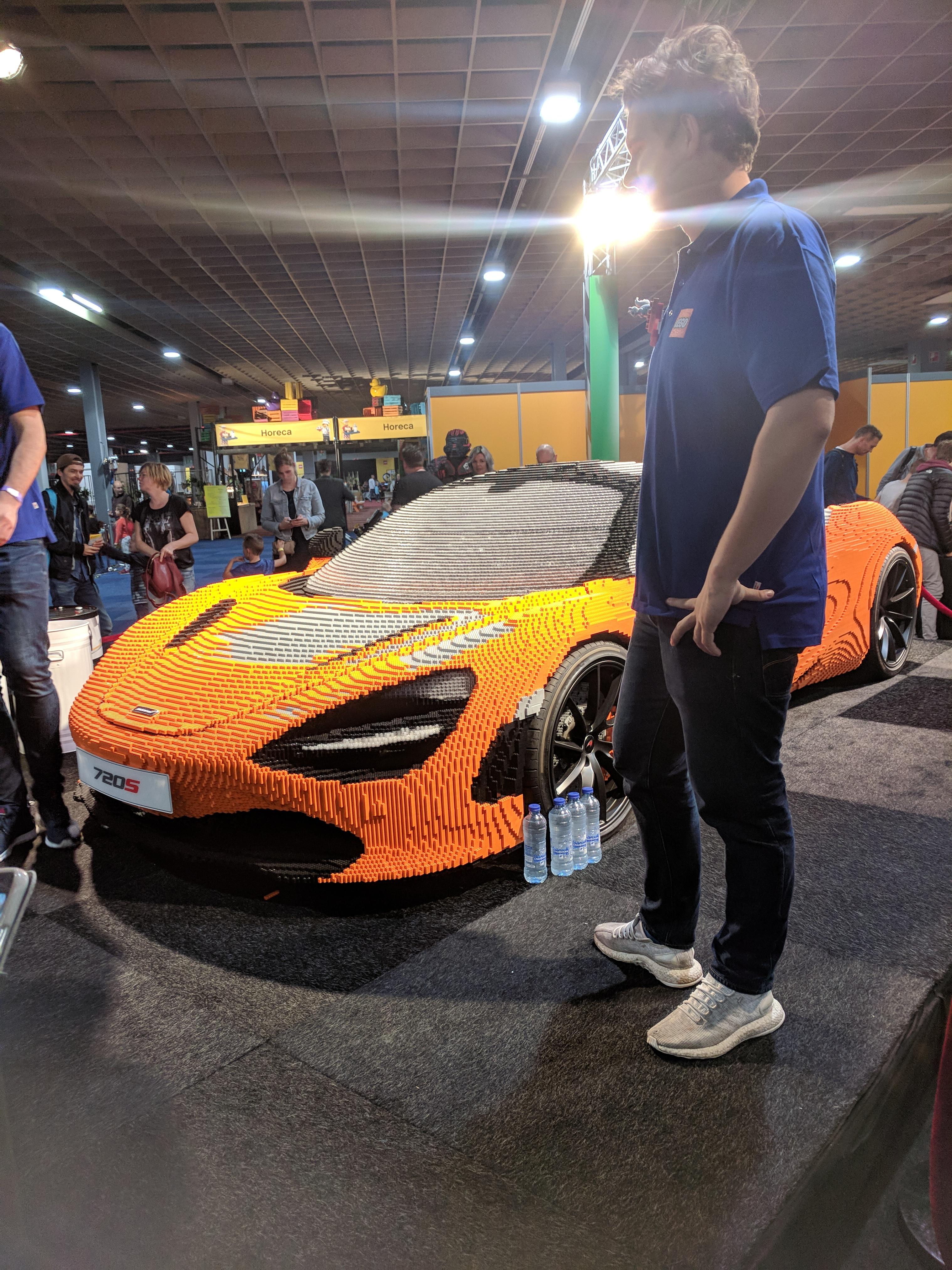 Lego World 2017 McLaren