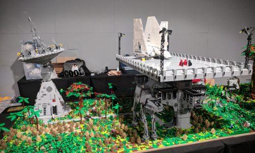 Lego blijkt echte kunst tijdens Lego World 2017