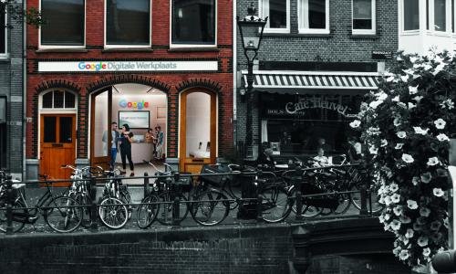 Google opent digitale werkplaats voor ZZP'ers in Amsterdam