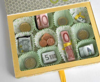 geld als cadeau inpakken