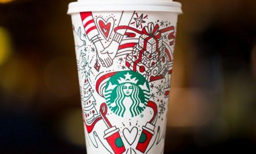 Maak je warm voor de feestdagen met nieuwe Starbucks smaken en kerstcup
