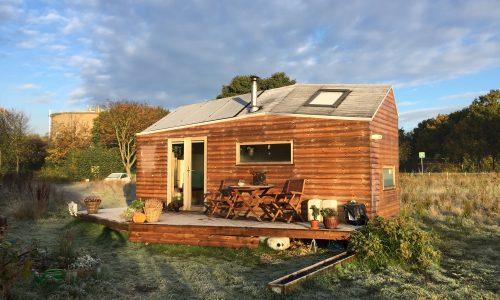Hoe is het om in een Tiny House te wonen? Marjolein Jonker vertelt
