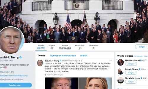 Dit is waarom Twitter controversiële accounts zoals die van Trump niet verwijdert