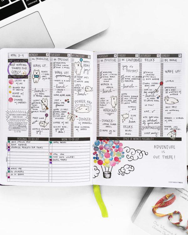 agenda's voor ondernemers - Passion Planner