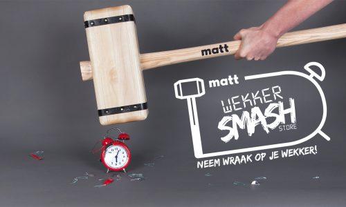 Neem wraak op je wekker in de 'Wekker Smash Store'