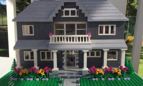 Tiny House maar dan anders: Deze kunstenaar bootst jouw huis na met LEGO blokjes