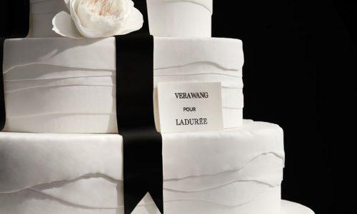 Macaron alert: Binnenkort bestel je een Vera Wang x Ladurée bruiloftstaart