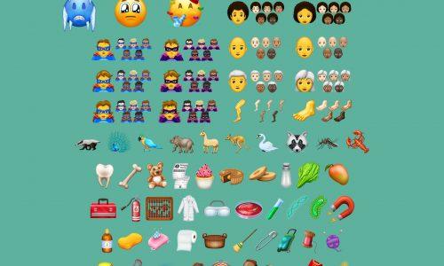 Wel haar, geen haar: de nieuwe emoji van 2018 hebben het allemaal (video)