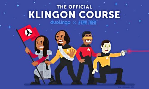 Star Trek-fans opgelet: Duolingo laat je nu gratis Klingon leren