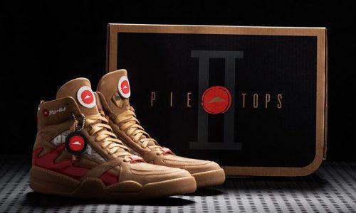 Slimme sneakers Pie Tops II kunnen je film pauzeren en pizza bestellen