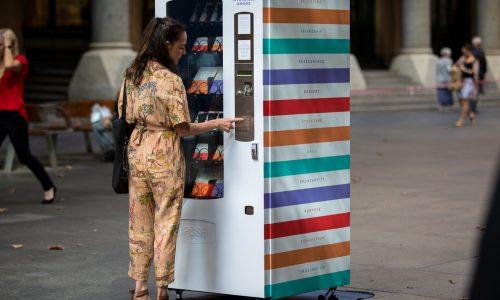 Automaat in Sydney geeft snacks die goed zijn voor je mentale gezondheid