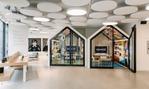 In de nieuwe Sonos Concept Store in Berlijn moet je de muziekcultuur gaan ervaren