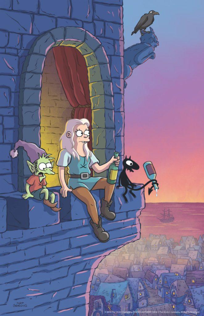Netflix-Disenchantment Matt Groening, The Simpsons