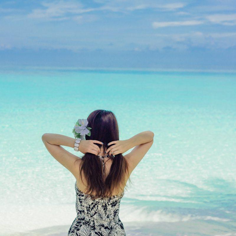 Zomer, strand, zonnebrandspray, zonnebrand