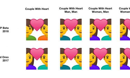 Bètaversie nieuwe Android krijgt genderneutrale emoji