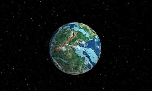 Zien: Ancient Earth Globe toont onze planeet voor we hem vervuilden